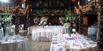 Lovely lighting and floristry