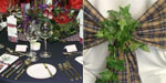 Tartans, Clans and Thistles... Tailor made Highland Dress for Gala Dinner